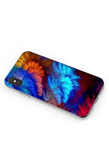 Lopard iPhone Xs Max Kılıf Silikon Arka Kapak Koruyucu Hafif Renkler Desenli Full HD Baskılı Renkli